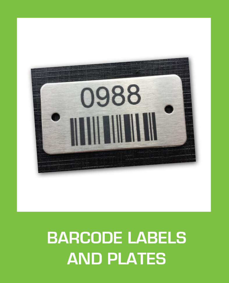 Bar Code Labels and Plates